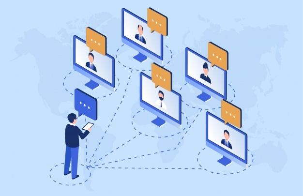 線上研討會成為疫情中最重要的溝通工具之一